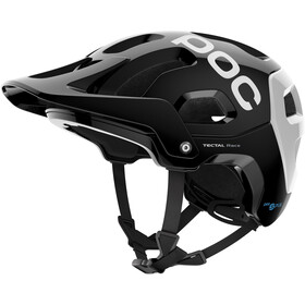 POC Tectal Race Spin Kask rowerowy, uranium black/hydrogen white